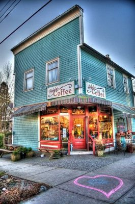 Kitsilano neighborhood caffee
